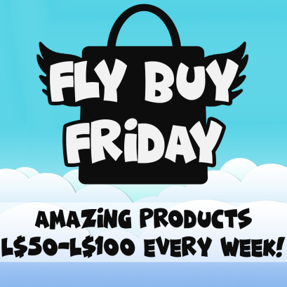 Fly Buy Friday Poster