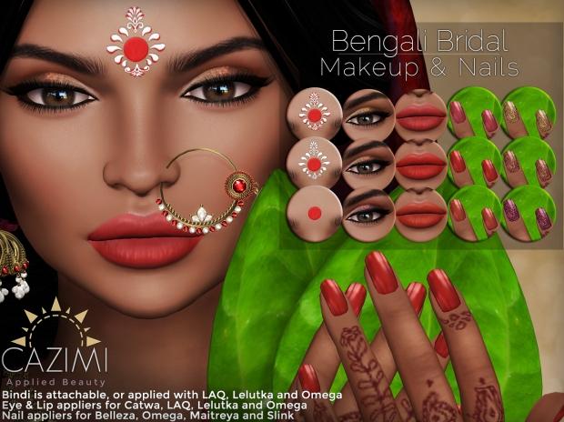 CAZIMI Bengali Bridal Ad 4X3